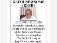 Keith Newsome (Kesh) photo