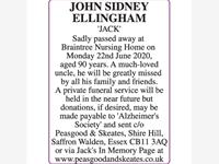 JOHN SIDNEY ELLINGHAM 'JACK' photo