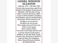 LIONEL WINSTON ELLISTON photo