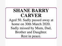 Shane Barry Carver photo