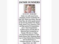 JACKIE SUMMERS photo