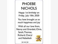 PHOEBE NICHOLS photo