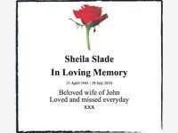 Sheila Slade photo
