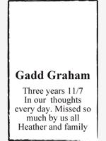 Gadd Graham photo