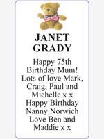 JANET GRADY photo
