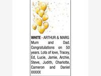 ARTHUR & MARG WHITE photo