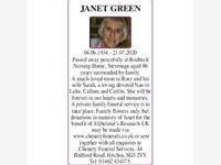 JANET GREEN photo