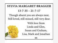 SYLVIA MARGARET BRAGGER  photo
