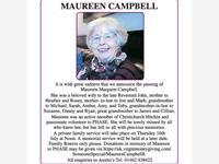 Maureen Campbell photo