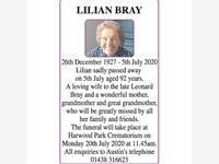 LILIAN BRAY photo