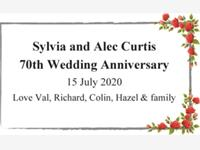 Sylvia and Alec Curtis photo