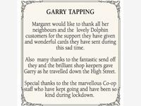 GARRY TAPPING photo