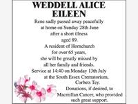 WEDDELL ALICE EILEEN photo