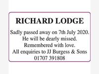 RICHARD LODGE photo