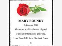 Mary Boundy photo