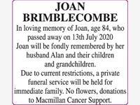Joan Brimblecombe photo