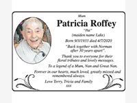 Patricia Roffey photo