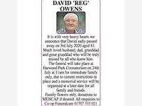 DAVID 'REG' OWENS photo