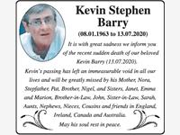 Kevin Stephen Barry photo