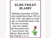 ELSIE VIOLET BLASBY photo