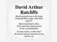 David Arthur Ratcliffe photo