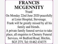 Francis McGennity photo