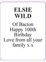 ELSIE WILD photo