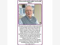 WILLIAM EDWARD NAYLER `BILL'  photo