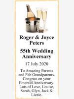 Roger & Joyce Peters photo