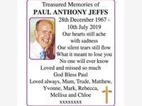 PAUL ANTHONY JEFFS photo