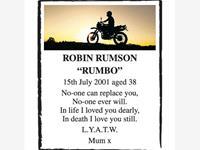 ROBIN RUMSON    photo