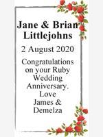 Jane & Brian Littlejohns photo