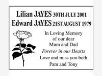 Lilian and Edward Jayes photo