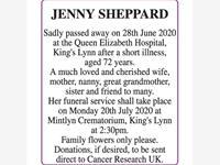 JENNY SHEPPARD photo