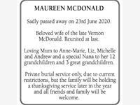 Maureen McDonald photo
