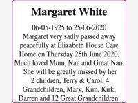 Margaret White photo