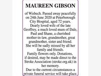 MAUREEN GIBSON photo