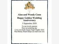 Alan & Wendy Cann photo