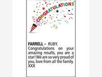 RUBY FARRELL photo