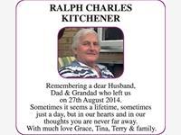 RALPH CHARLES KITCHENER  photo