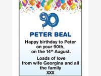PETER BEAL photo