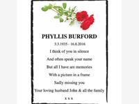 Phyllis Burford photo