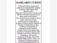 MARGARET CURTIS photo