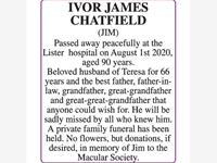 IVOR JAMES CHATFIELD 'JIM' photo