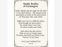 Maddy Bradley photo