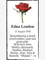 Edna London photo