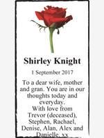 Shirley Knight photo