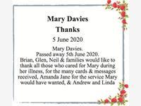 Mary Davies photo