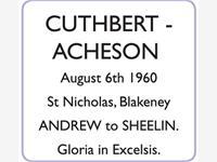CUTHBERT -  ACHESON photo