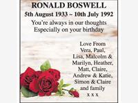 Ronald Boswell photo